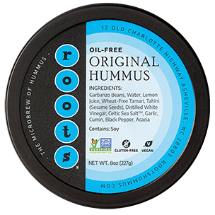 roots hummus oil-free original flavor